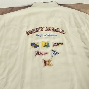Tommy Bahama Embroidered Flags of Leisure